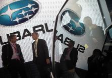 Fuji Heavy Industries a annoncé vendredi qu'il rappelait 935.000 Subaru Legacy dans le monde entier pour réparer des essuie-glaces défectueux. /Photo d'archives/REUTERS/Eric Thayer