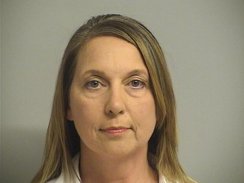 Tulsa, Oklahoma Police Officer Betty Shelby, 42, charged with first-degree manslaughter in the death of 40-year-old Terence Crutcher.  Courtesy Tulsa County Jail/Handout via REUTERS