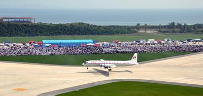 North Korea air show