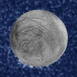 Imagem mostra supostos vapores de água na lua Europa, de Júpiter, em foto do Telescópio Hubble tirada em 26/01/2014 e divulgada em 26/09/2016 NASA/ESA/W. Sparks (STScI)/USGS Astrogeology Science Center/Handout via Reuters