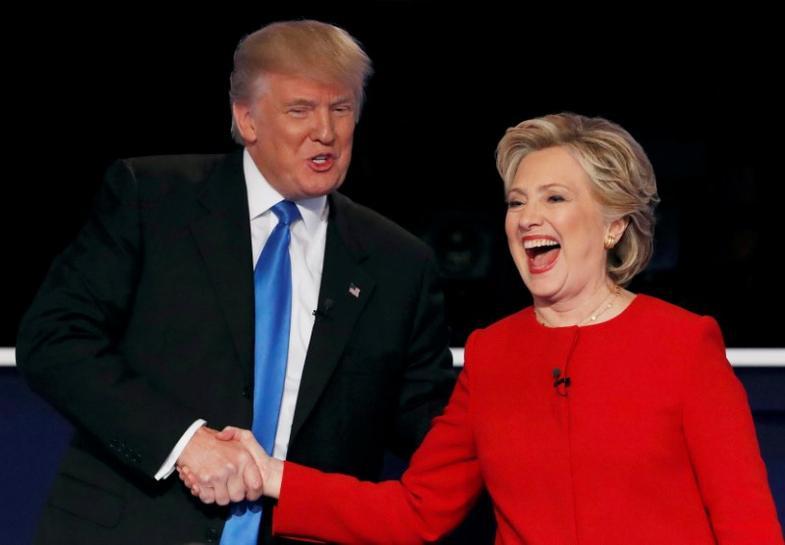 Hillary coloca Trump na defensiva em debate acalorado