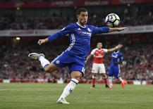 Hazard em jogo do Chelsea contra o Arsenal.  24/9/16. Reuters / Dylan Martinez