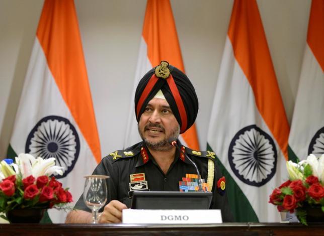 9月29日、インド軍高官は、カシミール地方のインド支配地域への侵入を準備していた可能性があるとして、パキスタンの軍事勢力に攻撃を行ったと明らかにした(2016年 ロイター)