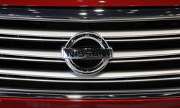 Nissan a dévoilé jeudi au Mondial de l'automobile la cinquième génération de sa Micra, plus grande que la précédente et fabriquée pour la première fois en France, dans l'usine Renault de Flins (Yvelines). /Photo d'archives/ REUTERS/Yuriko Nakao