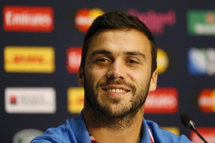 Rugby Union - Argentina Press Conference - Olympic Stadium, London, England - 29/10/15Argentina's Martin Landajo during a press conference Action Images via Reuters / Andrew BoyersLivepic