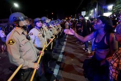 El Cajon protests after police shooting