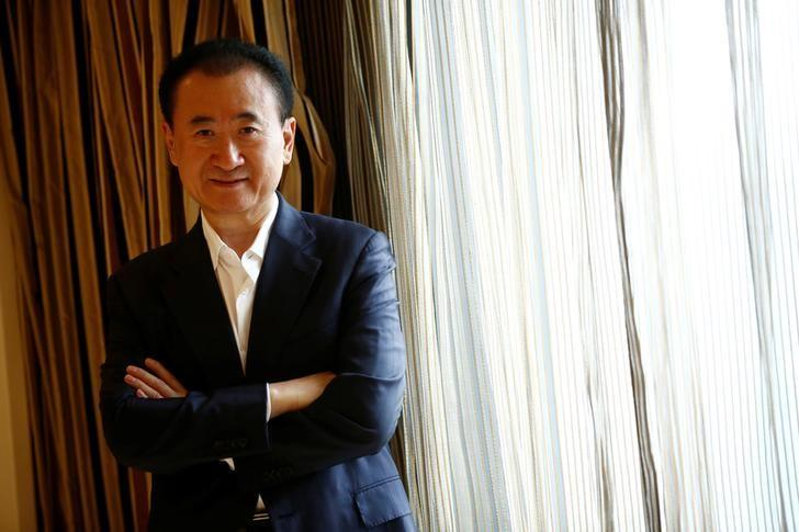 Wang Jianlin, chairman of the Wanda Group, poses for pictures after an interview in Beijing, China, August 23, 2016.  REUTERS/Thomas Peter/Files
