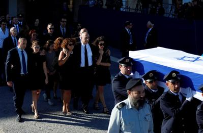 Funeral for Shimon Peres
