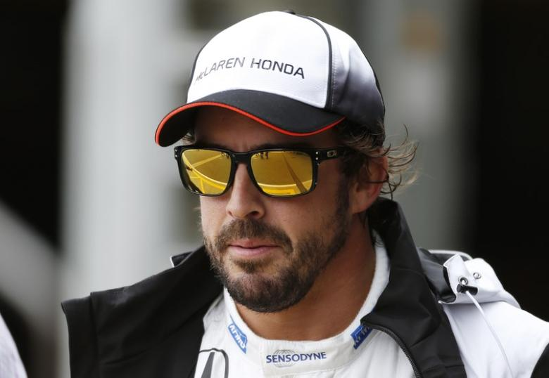 Britain Formula One - F1 - British Grand Prix 2016 - Silverstone, England - 9/7/16McLaren's Fernando Alonso after qualifyingReuters / Andrew BoyersLivepic/files
