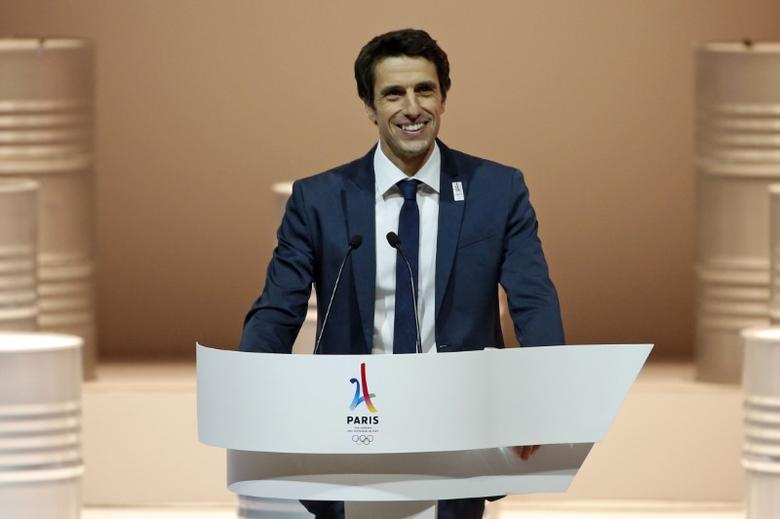French canoe champion Tony Estanguet, co-president of the Paris candidacy, attends the presentation of the Paris candidacy for the 2024 Olympic and Paralympic Games in Paris, February 17, 2016. REUTERS/Benoit Tessier/Files