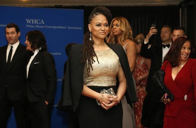 Director Ava DuVernay arrives for the annual White House Correspondents' Association dinner in Washington April 25, 2015. REUTERS/Jonathan Ernst