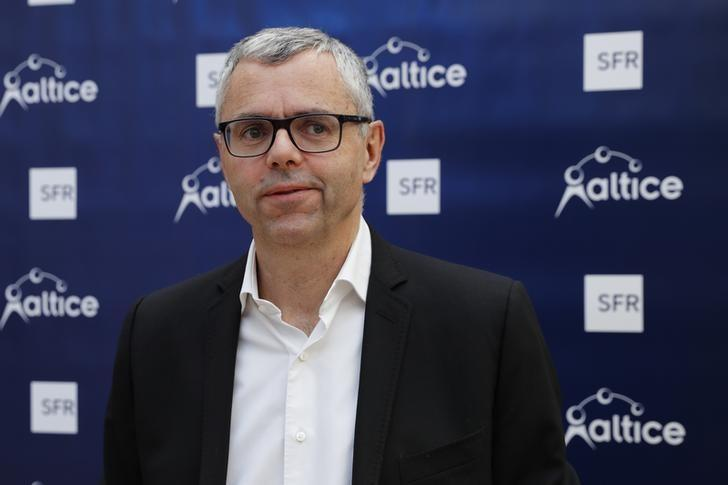 Michel Combes, Chairman of Numericable-SFR and global director of operations at Altice, poses before a news conference in Paris, France, March 22, 2016. REUTERS/Benoit Tessier