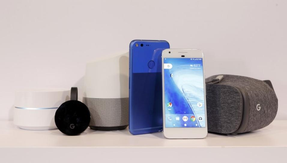 Google takes on Apple, Amazon with new hardware push | Reuters