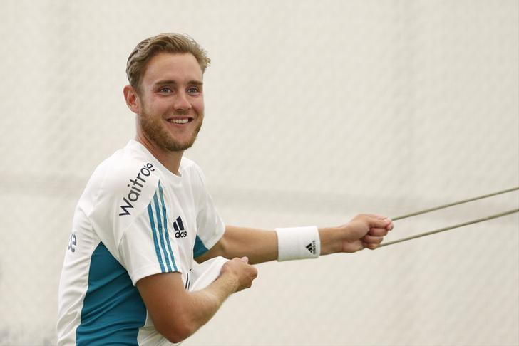 Britain Cricket - England Nets - Lord's - 12/7/16England's Stuart Broad during netsAction Images via Reuters / Andrew BoyersLivepic/Files