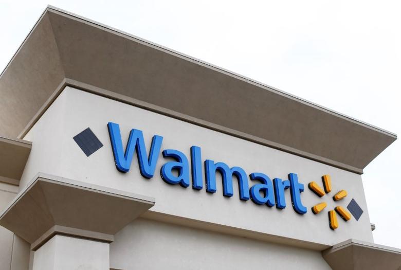 FILE PHOTO --  A Walmart store is seen in Encinitas, California April 13, 2016.  REUTERS/Mike Blake/File Photo