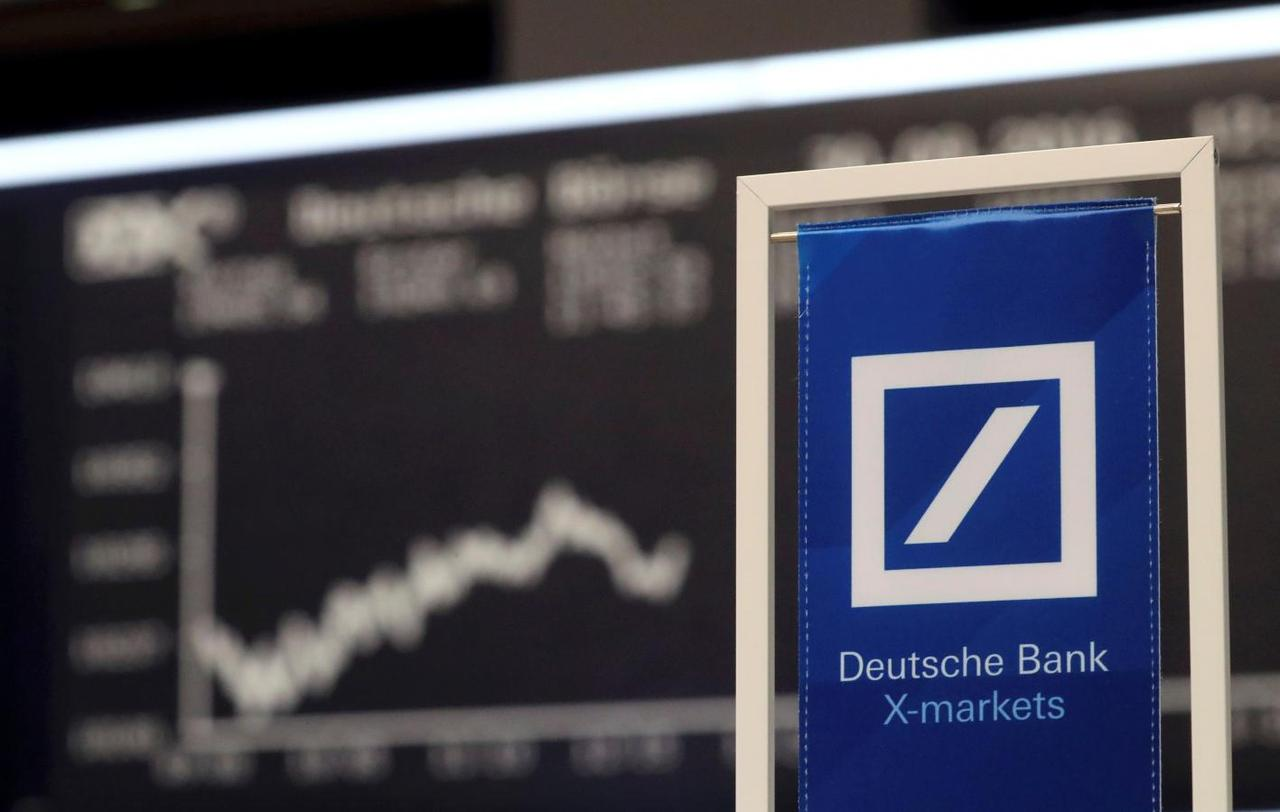 Deutsche Bank Plans 7 2 Bln Mortgage Settlement With Us Daily Mail - A deutsche bank banner is pictured in front of the german share price index dax board at the stock exchange in frankfurt germany september 30 2016