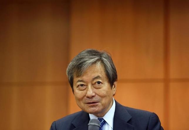 10月7日、国際協力銀行の近藤章総裁は就任後初めてロイターのインタビューに応じた。採算を重視しつつ日本企業の海外展開を支援していきたいとの抱負を語り、米大統領選については、トランプ候補の就任を「メーンリスク」と指摘し、国際金融市場の激変に備える必要性を強調した。6月に都内で撮影(2016年 ロイター/Thomas Peter)
