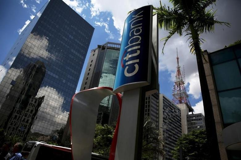 The building of a Citibank branch is seen at Paulista Avenue in Sao Paulo's financial center, Brazil, in a February 19, 2016 file photo. REUTERS/Nacho Doce/Files