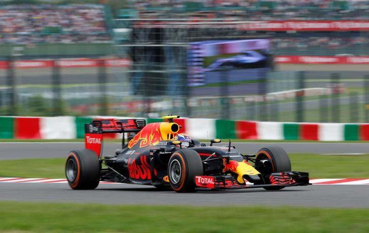 Formula One F1 - Japanese Grand Prix - Suzuka Circuit, Japan- 9/10/16. Red Bull's Max Verstappen of the Netherlands in action during the race. REUTERS/Toru Hanai