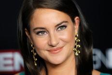 """Atriz Shailene Woodley em lançamento do filme """"Snowden"""" em Nova York. 13/9/2016.  REUTERS/Andrew Kelly"""