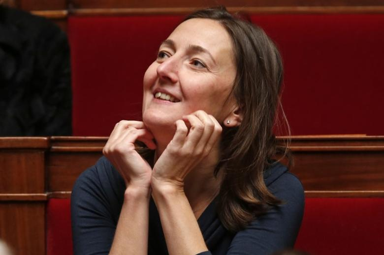 French Socialist party deputy Karine Berger attends the questions to the government session at the National Assembly in Paris February 20, 2013.  REUTERS/Charles Platiau