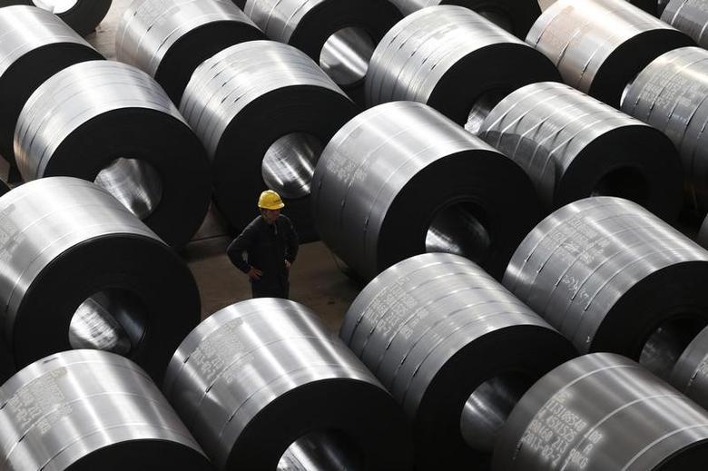 2013年2月28日,浙江嘉兴一家面向欧美出口市场的钢厂。REUTERS/William Hong