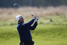 Britain Golf - British Masters - The Grove, Hertfordshire - 13/10/16 England's Lee Westwood in action during the first round Action Images via Reuters / Paul Childs Livepic