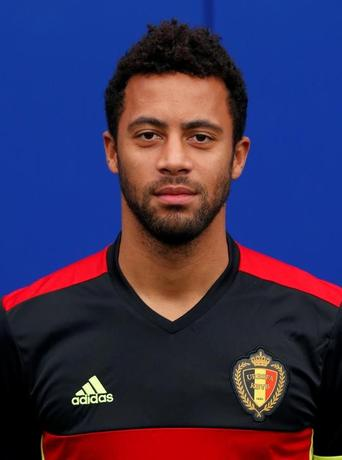Football Soccer - UEFA European Championship 2016 - Belgium training session - Genk, Belgium - 02/06/16. Belgium's soccer team player Mousa Dembele poses for a photo. REUTERS/Francois Lenoir