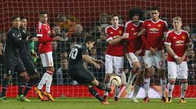 Partida entre Liverpool e Manchester United pela Liga Europa.   17/03/2016     Action Images via Reuters / Jason Cairnduff Livepic
