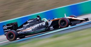 Hungary Formula One - F1 - Hungarian Grand Prix 2016 - Hungaroring, Hungary - 22/7/16 Force India's Nico Hulkenberg during practice REUTERS/Laszlo Balogh
