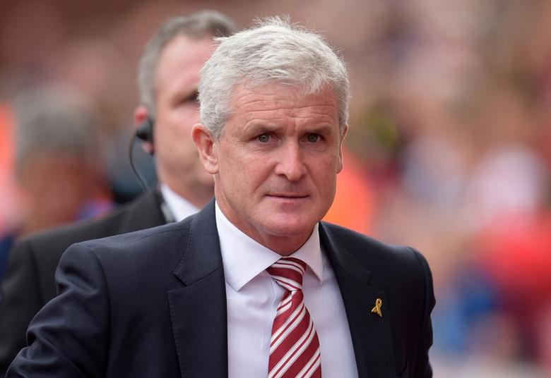 Britain Football Soccer - Stoke City v West Bromwich Albion - Premier League - bet365 Stadium - 24/9/16Stoke City manager Mark Hughes Action Images via Reuters / Paul BurrowsLivepic