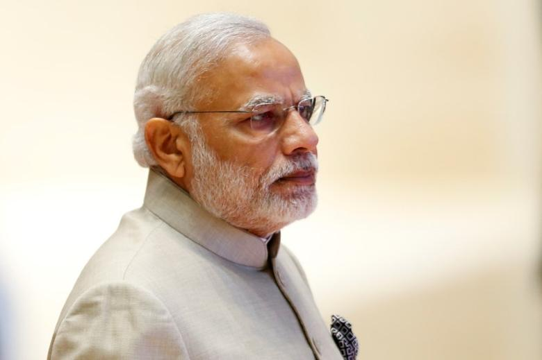 India's Prime Minister Narendra Modi arrives at the ASEAN Summit in Vientiane, Laos September 7, 2016.  REUTERS/Soe Zeya Tun