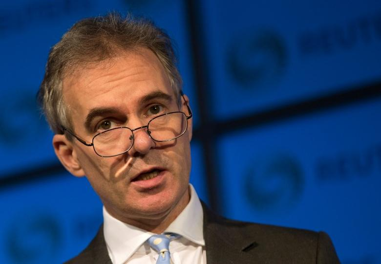 Deputy Governor of the Bank of England Ben Broadbent speaks at a Reuters Newsmaker event at Canary Wharf in London, Britain, November 18, 2015.    REUTERS/Neil Hall/File Photo - RTSQUBQ