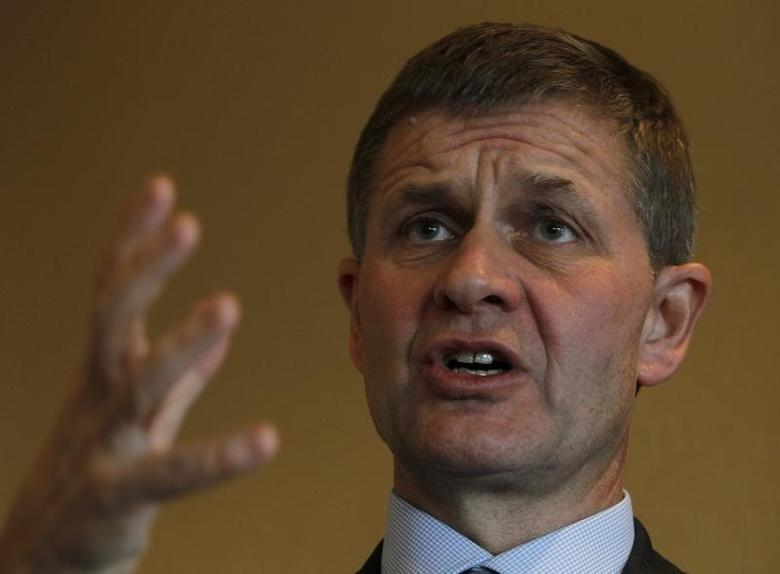 Erik Solheim speaks during an interview in Jakarta October 25, 2010.  REUTERS/Crack Palinggi
