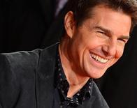 """Cruise chega para lançamento de """"Jack Reacher"""" em Londres. 10/12/2012. REUTERS/Toby Melville"""