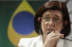 Magda Chambriard durante entrevista no Rio de Janeiro. 23/5/2013.   REUTERS/Ricardo Moraes