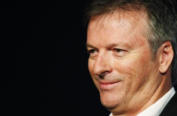 Former Australian cricket captain Steve Waugh attends an event ahead of the 2011 Cricket World Cup in Mumbai February 2, 2011. REUTERS/Danish Siddiqui