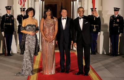 The Obamas' last state dinner