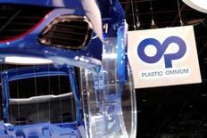 Plastic Omnium a fait état d'une accélération de sa croissance au troisième trimestre. La société a réalisé sur les trois derniers mois un chiffre d'affaires total de 1,7 milliard d'euros, en hausse de 20,6%. /Photo prise le 30 septembre 2016/REUTERS/Benoit Tessier