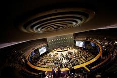 Vista do plenário da Câmara dos Deputados em Brasília 13/07/2016 REUTERS/Ueslei Marcelino