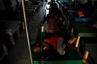 Cholera fears in Haiti