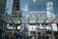Signage that reads Time Warner is seen at the Time Warner Center in New York City, October 23, 2016. REUTERS/Stephanie Keith