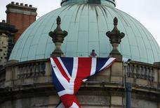 Bandeira britânica vista em Leeds, Inglaterra.    28/09/2016 Action Images via Reuters / Andrew Boyers Livepic