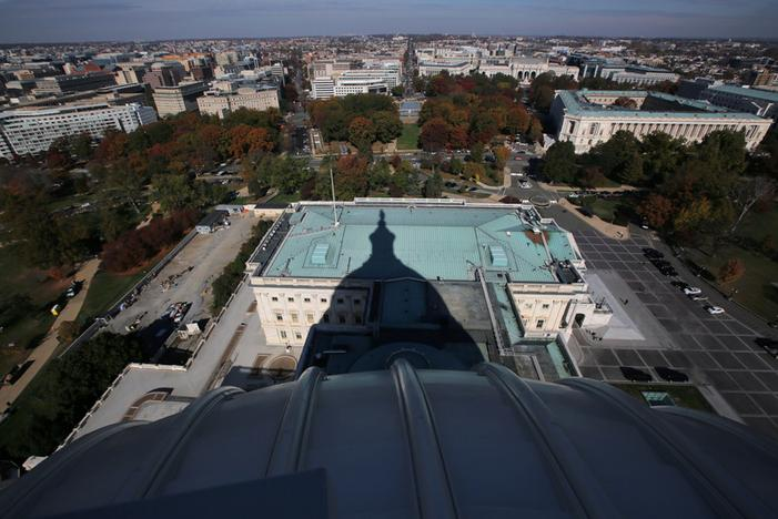 Years-long rehab of towering U.S. Capitol dome completed