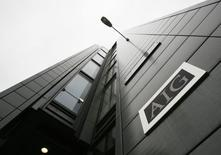 The American International Group (AIG) office building is seen in the City of London on September 16, 2008. REUTERS/Andrew Winning