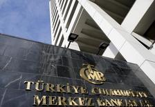 Turkey's Central Bank headquarters is seen in Ankara, Turkey in this January 24, 2014 file photo. REUTERS/Umit Bektas/Files