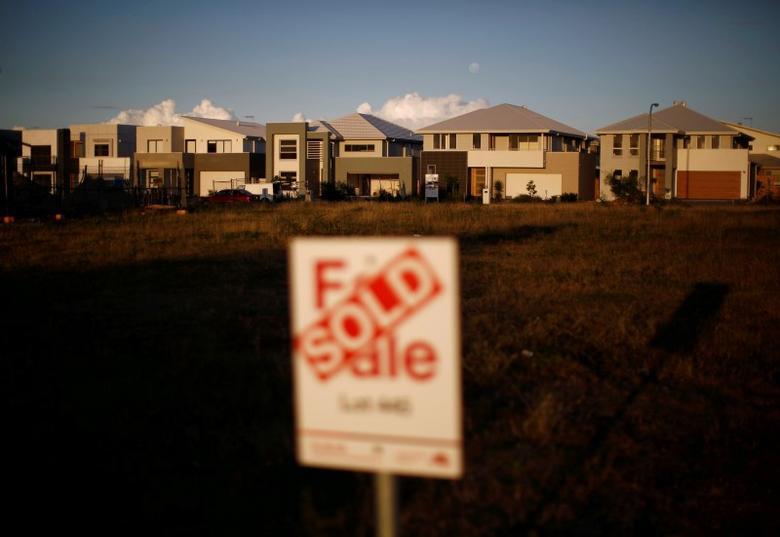 2014年5月13日,悉尼郊区Greenhills Beach的多栋新屋。REUTERS/Jason Reed