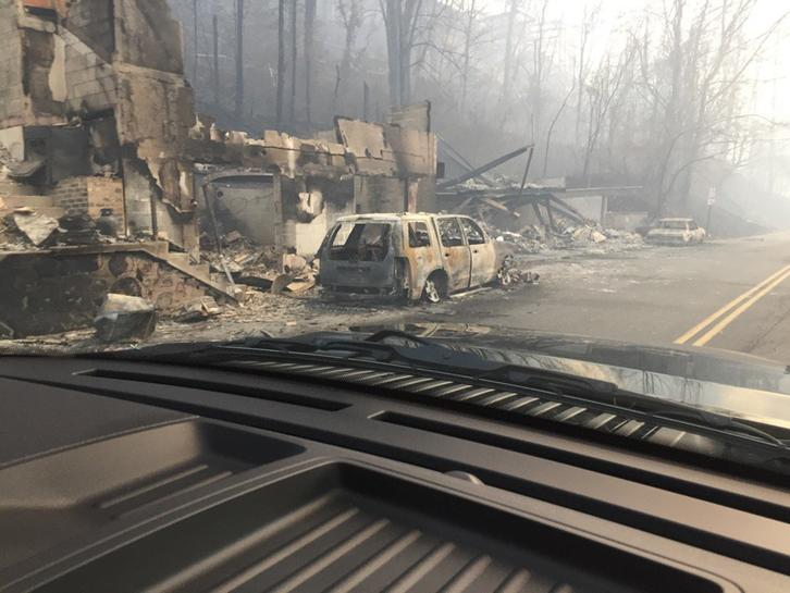 Death toll from Tennessee wildfire climbs to 11