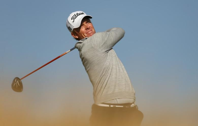 Golf - Alfred Dunhill Links Championship - St Andrews, Scotland - 2/10/15 Australia's Andrew Dodt during the second round Mandatory Credit: Action Images / Jason Cairnduff Livepic