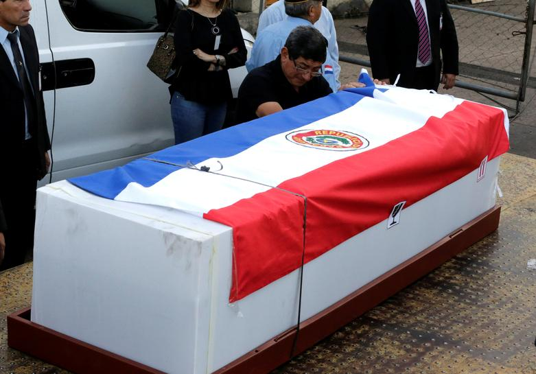 Dozens of hearses to take Colombia crash victims toward final flight home